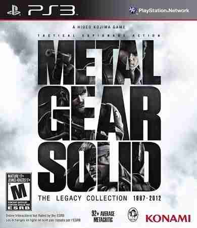 Descargar Metal Gear Solid The Legacy Collection [MULTI][Region Free][FW 4.4x][COLLATERAL] por Torrent